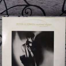 Discos de vinilo: PETER GODWIN - EMOCIONAL DISGUISE. Lote 257520515
