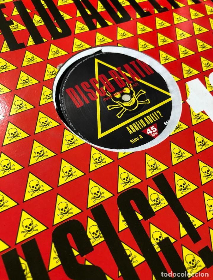 Discos de vinilo: Arbeid Adelt ? – Disco Death BAA 1 MAXI BELGIUM 1988 ELECTRO, SYNTH POP - Foto 2 - 257521255