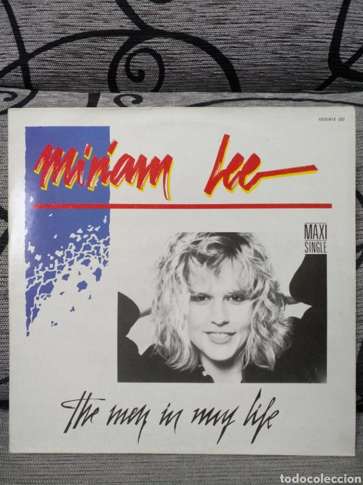 MIRIAM LEE - THE MEN IN MY LIFE (Música - Discos de Vinilo - Maxi Singles - Pop - Rock - New Wave Internacional de los 80)