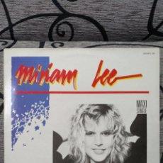 Discos de vinilo: MIRIAM LEE - THE MEN IN MY LIFE. Lote 257521360