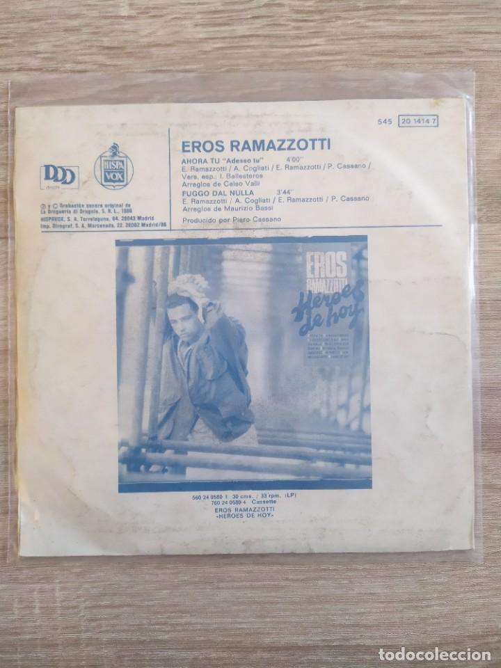 Discos de vinilo: Eros Ramazzotti - ahora tú - Foto 2 - 257522725
