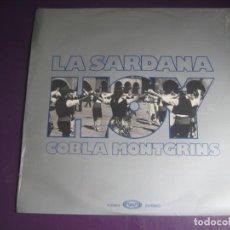 Discos de vinilo: LA SARDANA HOY - COBLA MONTGRINS - LP MOVIEPLAY 1976 - FOLK TRADICIONAL CATALAN CATALUÑA. Lote 257524400