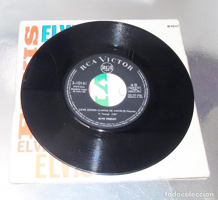 Discos de vinilo: ELVIS PRESLEY ---- LOVE LETTERS & COME WHAT MAY 1966----- VINILO NEAR MINT / FUNDA VG+ - Foto 3 - 257530985