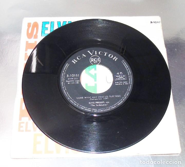 Discos de vinilo: ELVIS PRESLEY ---- LOVE LETTERS & COME WHAT MAY 1966----- VINILO NEAR MINT / FUNDA VG+ - Foto 4 - 257530985