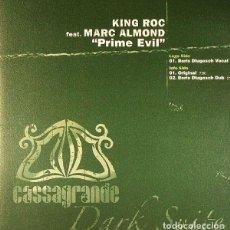 """Discos de vinilo: KING ROC FEATURING MARC ALMOND MAXI 12"""" VINILO 180G * PRIME EVIL * PRECINTADO * RARE* CASSAGRANDE. Lote 257540880"""