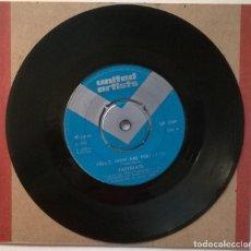 Discos de vinilo: EASYBEATS. HELLO HOW ARE YOU/ FALLING OFF THE EDGE OF THE WORLD. UA, UK 1968 SINGLE. Lote 257548810