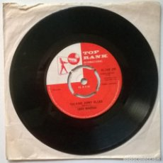 Discos de vinilo: JOSH MACRAE. TALKING ARMY BLUES/ TALKING GUITAR BLUES. TOP RANK, UK 1960 SINGLE. Lote 257549385
