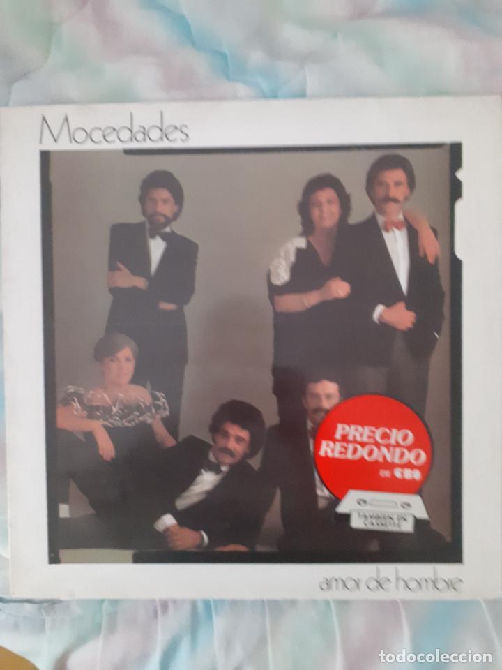 MOCEDADES - AMOR DE HOMBRE (Música - Discos de Vinilo - EPs - Grupos Españoles de los 70 y 80)