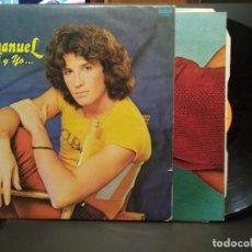 Discos de vinilo: LP RCA 1982 EMMANUEL- TU Y YO . INCLUYE PÓSTER PEPETO. Lote 257556105