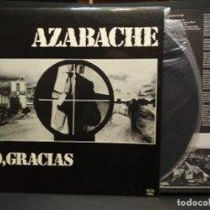 Discos de vinilo: AZABACHE -LP NO, GRACIAS (1980) RARITE VINYL PROGRES.SPANISH-*MUY BUSCADO-NUEVO ¡¡ PEPETO. Lote 257557935