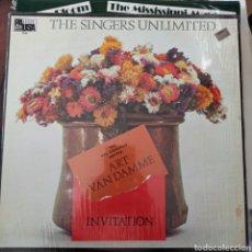 Discos de vinilo: ART VAN DAMME & THE SINGERS UNLIMITED - INVITATION (PAUSA RECORDS, US, 1980). Lote 257567535