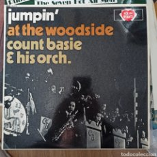 Discos de vinilo: COUNT BASIE & HIS ORCHESTRA - JUMPIN' AT THE WOODSIDE (ACE OF HEARTS, UK, 1966). Lote 257568590