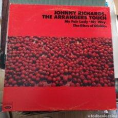 Discos de vinilo: JOHNNY RICHARDS - THE ARRANGERS TOUCH (JAZZ VOGUE, WHITE LABELS EDITION, GATEFOLD, 2XLP, US, 1980). Lote 257569740