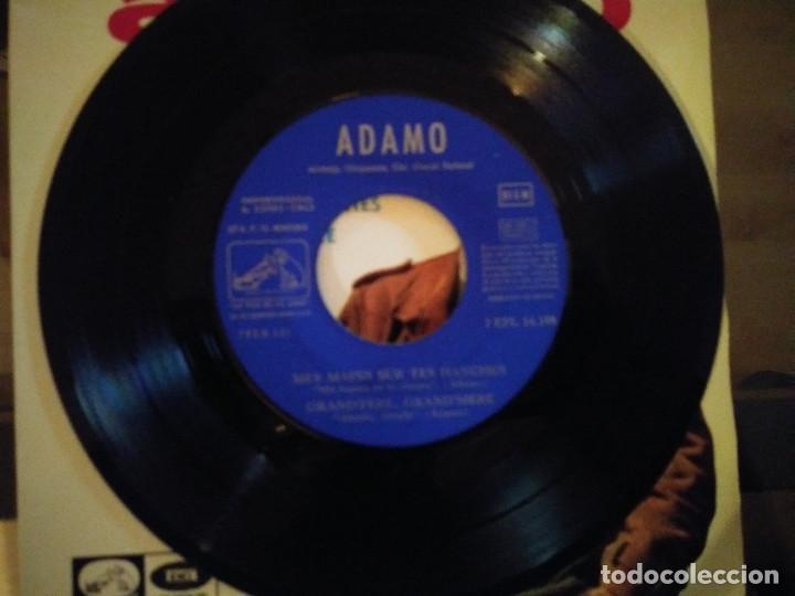 Discos de vinilo: Adamo – Mes Mains Sur Tes Hanches - Foto 3 - 257579620