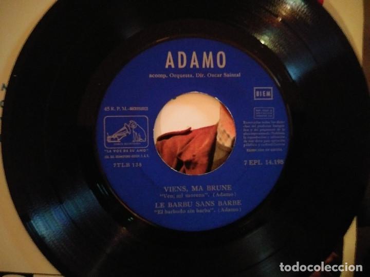 Discos de vinilo: Adamo – Mes Mains Sur Tes Hanches - Foto 4 - 257579620