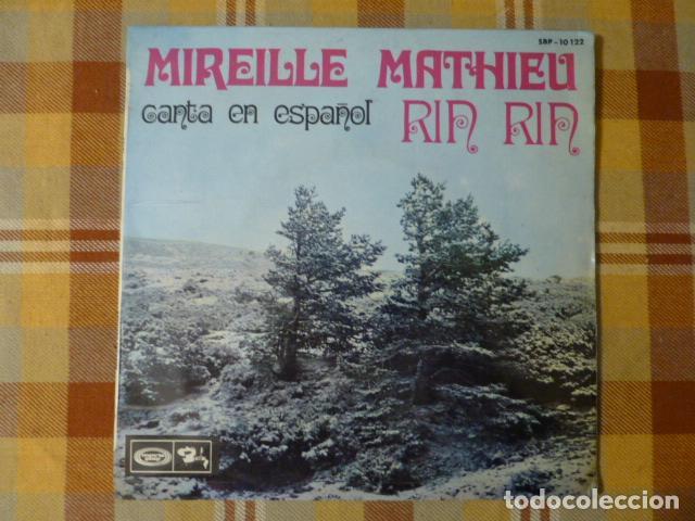 MIREILLE MATHIEU CANTA EN ESPAÑOL RIN RIN 1968 (Música - Discos - Singles Vinilo - Canción Francesa e Italiana)