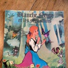 Discos de vinilo: VINILO LP BLANCHE NEIGE ET LES SEPT NAINS Y PINOCCHIO - 1970. Lote 257598900
