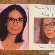 Discos de vinilo: 2 VINILOS NANA MOUSKOURI - 1978/1979. Lote 257602620