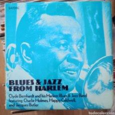Discos de vinilo: CLYDE BERNHARDT AND HIS HARLEM BLUES & JAZZ BAND - BLUES & JAZZ FROM HARLEM (SAYDISC, UK, 1972). Lote 257608370