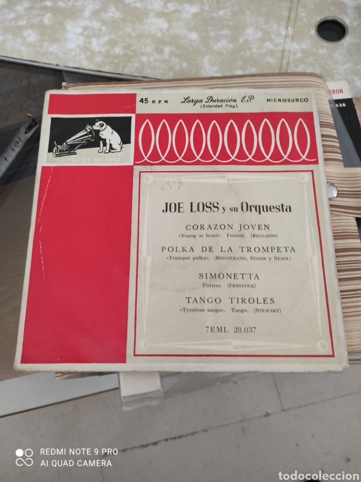 JOE LOSS ,VINILO (Música - Discos - Singles Vinilo - Clásica, Ópera, Zarzuela y Marchas)