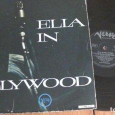 Discos de vinilo: ELLA IN HOLLYWOOD 1961 VERVE 1961 VINILO. Lote 257611205
