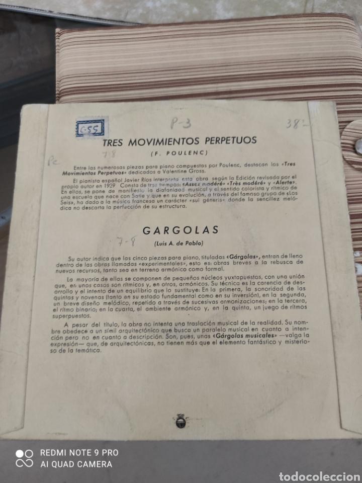 Discos de vinilo: Tres movimientos Perpetuos (Poulenc)Vinilo - Foto 2 - 257612010