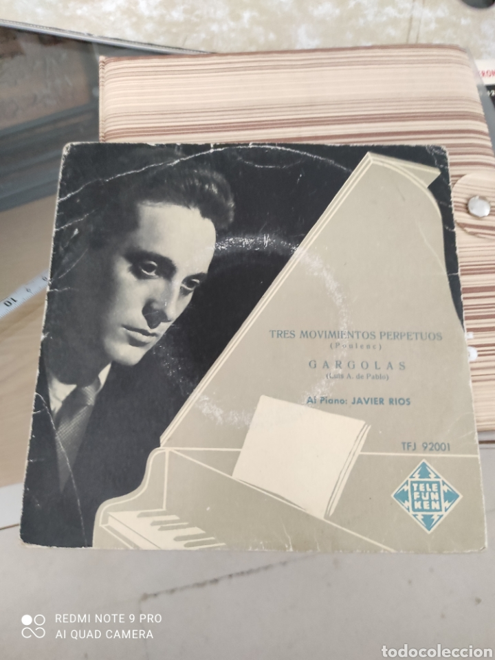 TRES MOVIMIENTOS PERPETUOS (POULENC)VINILO (Música - Discos - Singles Vinilo - Clásica, Ópera, Zarzuela y Marchas)