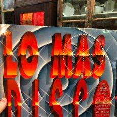 Disques de vinyle: LP LO MAS DISCO. Lote 257612270