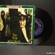 Discos de vinilo: THE NEW SEEKERS - BEG STEAL OR BORROW / SING OUT - PHILIPS 60 06 202 - 1972 - EUROVISION 72 PEPETO. Lote 257612500