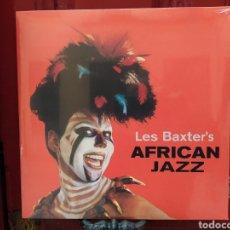 Discos de vinilo: LES BAXTER–AFRICAN JAZZ . LP VINILO NUEVO PRECINTADO. EXOTIC MUSIC. LOUNGE & ESASY LISTENING. Lote 257612620