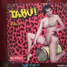 Discos de vinilo: TABU! VOLUME 5 . LP VINILO NUEVO PRECINTADO. EXOTIC ROCK & ROLL. Lote 257615315