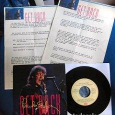 Discos de vinilo: BEATLES PAUL MCCARTNEY SINGLE PROMOCIONAL PRESENTACION PELICULA GET BACK EMI ODEON ESPAÑA 1991. Lote 257619935