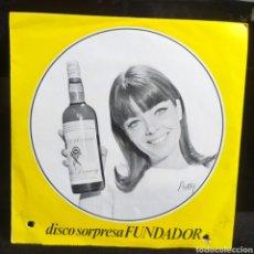 Discos de vinilo: DISCO SORPRESA FUNDADOR - MOURIR OU VIVRE 1967. Lote 257619970