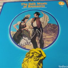 Discos de vinilo: SOLOISTS AND ORCHESTRA OF THE HOUSE OF CULTURE OF BUCHAREST–THE FOLK MUSIC OF RUMANIA. LP VINILO. Lote 257621505