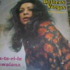Discos de vinilo: DOLORES VARGAS - EL MA-TA-RI-LE SINGLE ORIGINAL ESPAÑOL - BELTER RECORDS 1972 - MONOAURAL. Lote 257629635
