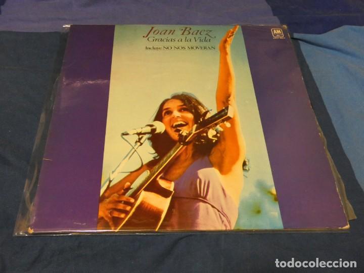 LP JOAN BAEZ GRACIAS A LA VIDA VINILO MUY BUEN ESTADO 1977 (Música - Discos - LP Vinilo - Pop - Rock - Internacional de los 70)