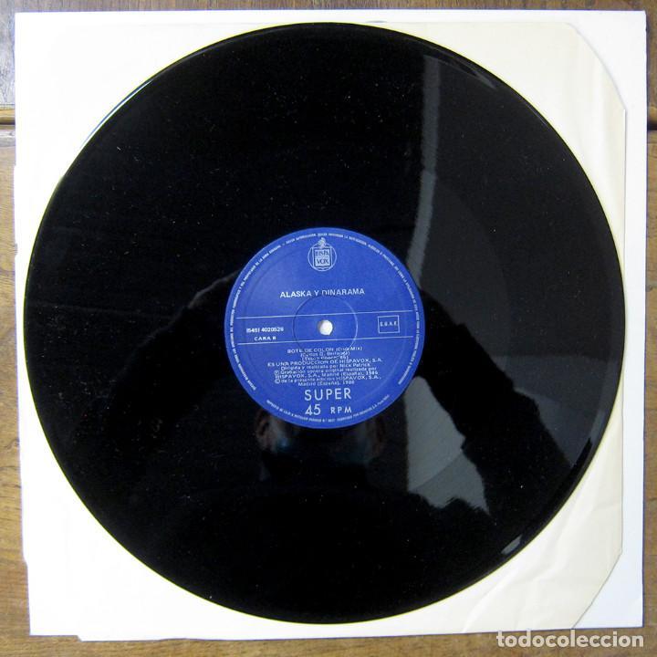 Discos de vinilo: ALASKA Y DINARAMA - A QUIÉN LE IMPORTA (CLUB MIX) / BOTE DE COLÓN (CLUB MIX) - 1986 - MAXI - Foto 4 - 257646135