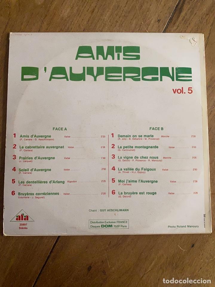 Discos de vinilo: Vinilo Lp Amis D'Auyergne avec les Auvergnats - Foto 2 - 257646975