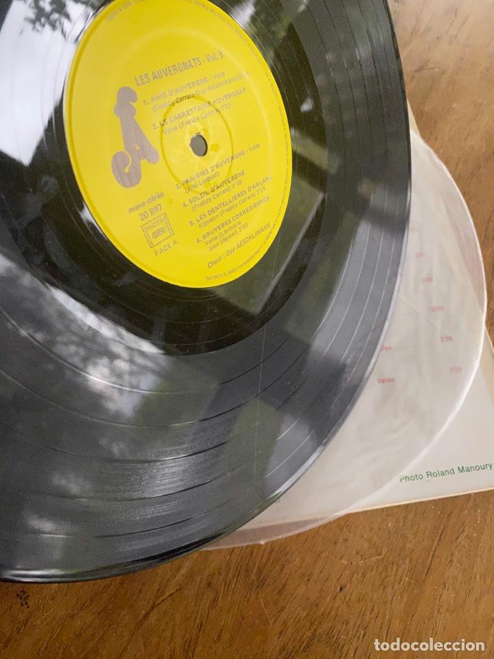 Discos de vinilo: Vinilo Lp Amis D'Auyergne avec les Auvergnats - Foto 3 - 257646975