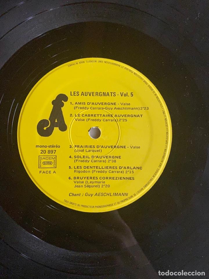 Discos de vinilo: Vinilo Lp Amis D'Auyergne avec les Auvergnats - Foto 4 - 257646975
