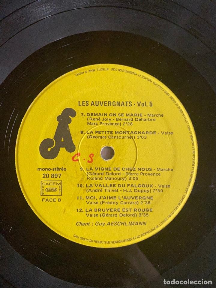 Discos de vinilo: Vinilo Lp Amis D'Auyergne avec les Auvergnats - Foto 6 - 257646975