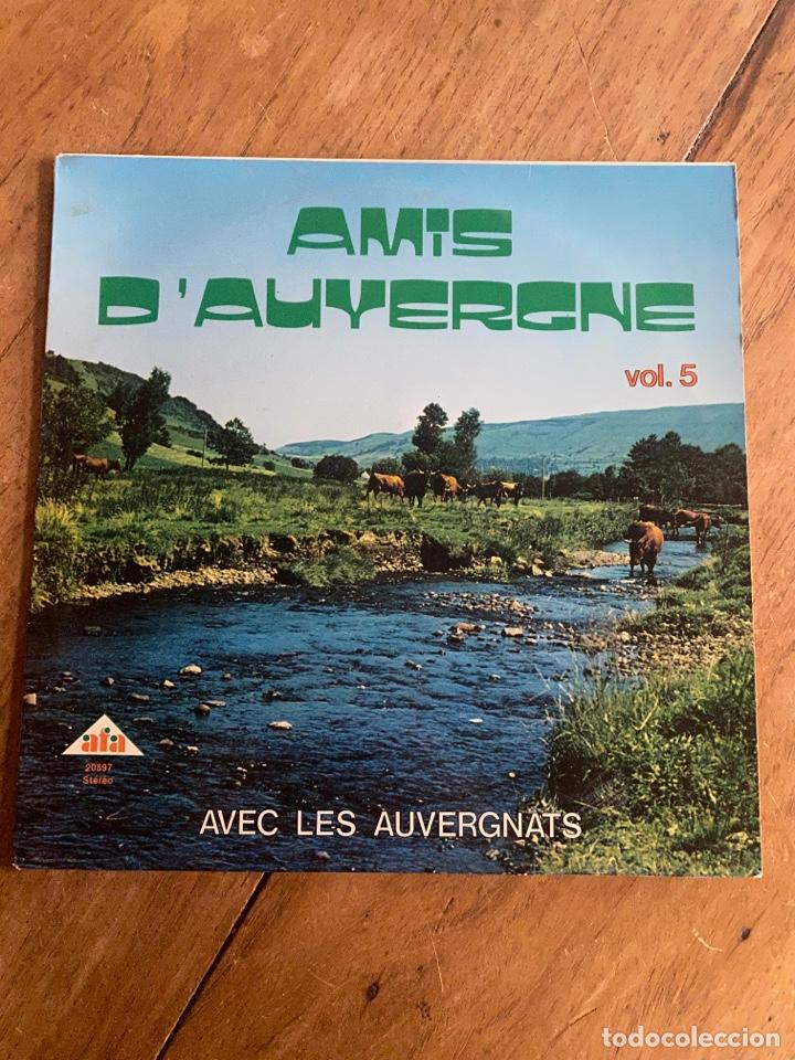 VINILO LP AMIS D'AUYERGNE AVEC LES AUVERGNATS (Música - Discos - LP Vinilo - Country y Folk)