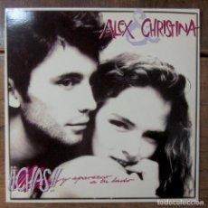 Discos de vinilo: ALEX Y CHRISTINA - CHAS Y APAREZCO A TU LADO / BETTY TIENE UN SECRETO - 1980 -DE LA NUEZ, ROSENVINGE. Lote 257647585