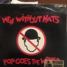 Discos de vinilo: MEN WITHOUT HATS . MERCURY. Lote 257661500