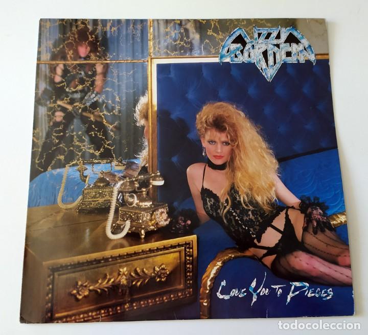 LP LIZZY BORDEN - LOVE YOU TO PIECES (Música - Discos - LP Vinilo - Heavy - Metal)