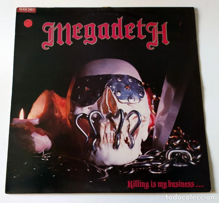 LP MEGADETH - KILLING IS MY BUSINESS...AND BUSINESS IS GOOD (Música - Discos - LP Vinilo - Heavy - Metal)