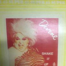 Discos de vinilo: BOBBY ORLANDO . DIVINE SHAKE IT UP . USA . NEW YORK .. Lote 257663020