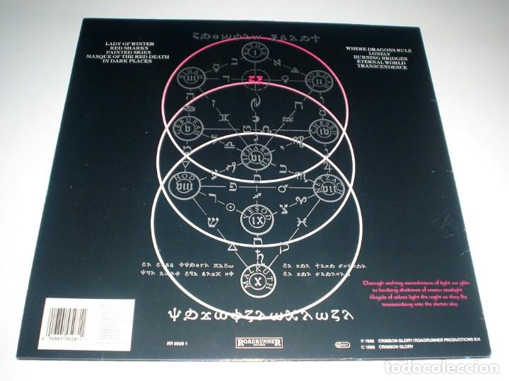 Discos de vinilo: LP CRIMSON GLORY - TRANSCENDENCE - Foto 2 - 257663130