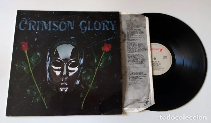 Discos de vinilo: LP CRIMSON GLORY - CRIMSON GLORY - Foto 3 - 257665165