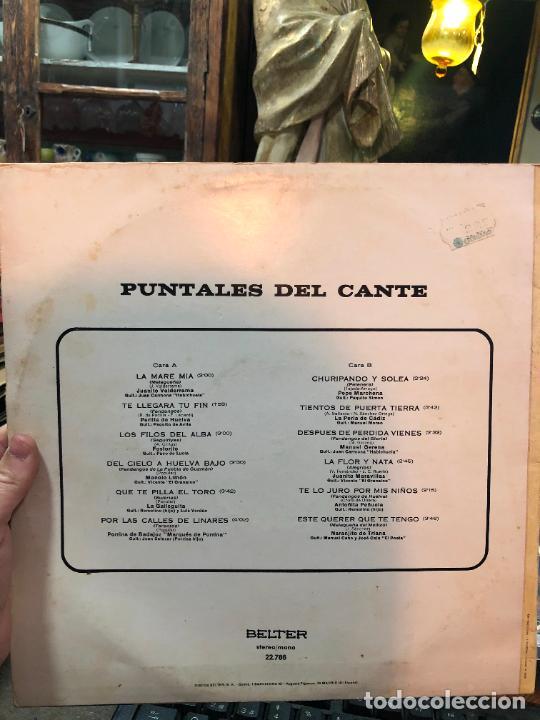 Discos de vinilo: LP PUNTALES DEL CANTE - Foto 2 - 257666035